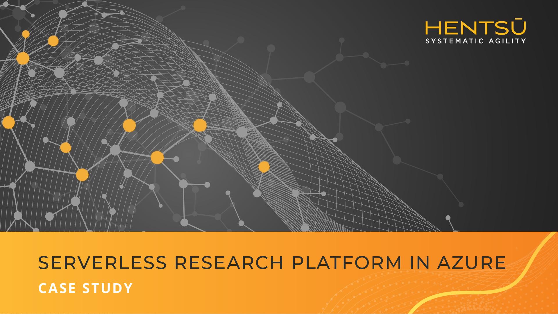 Case-Study-Serverless-Research-Platform-in-Azure